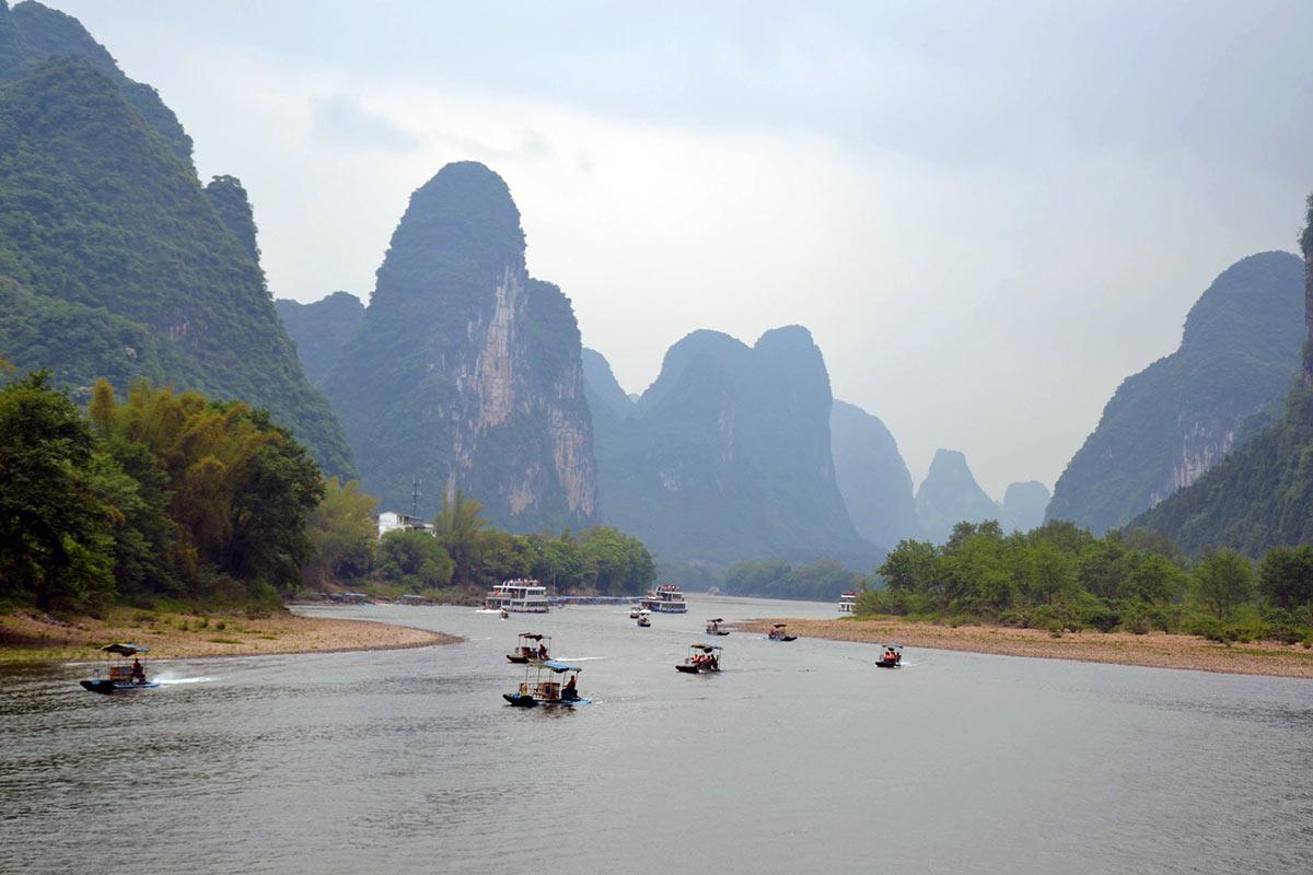 China Guilin Li River Cruise