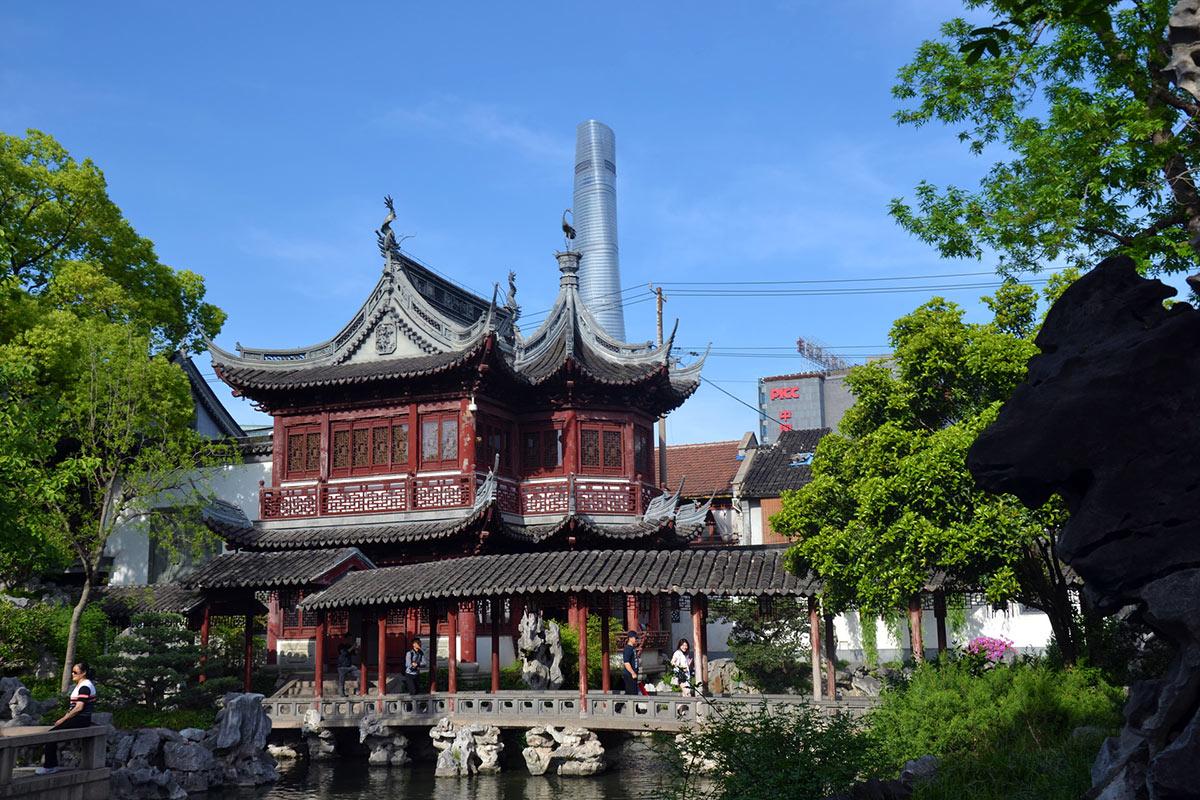 China Shanghai Yu Gardens