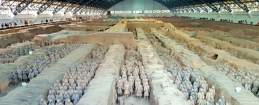 China Xian The Terracotta Army