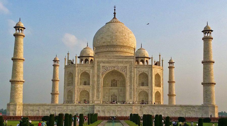 India Agra Taj Mahal banner