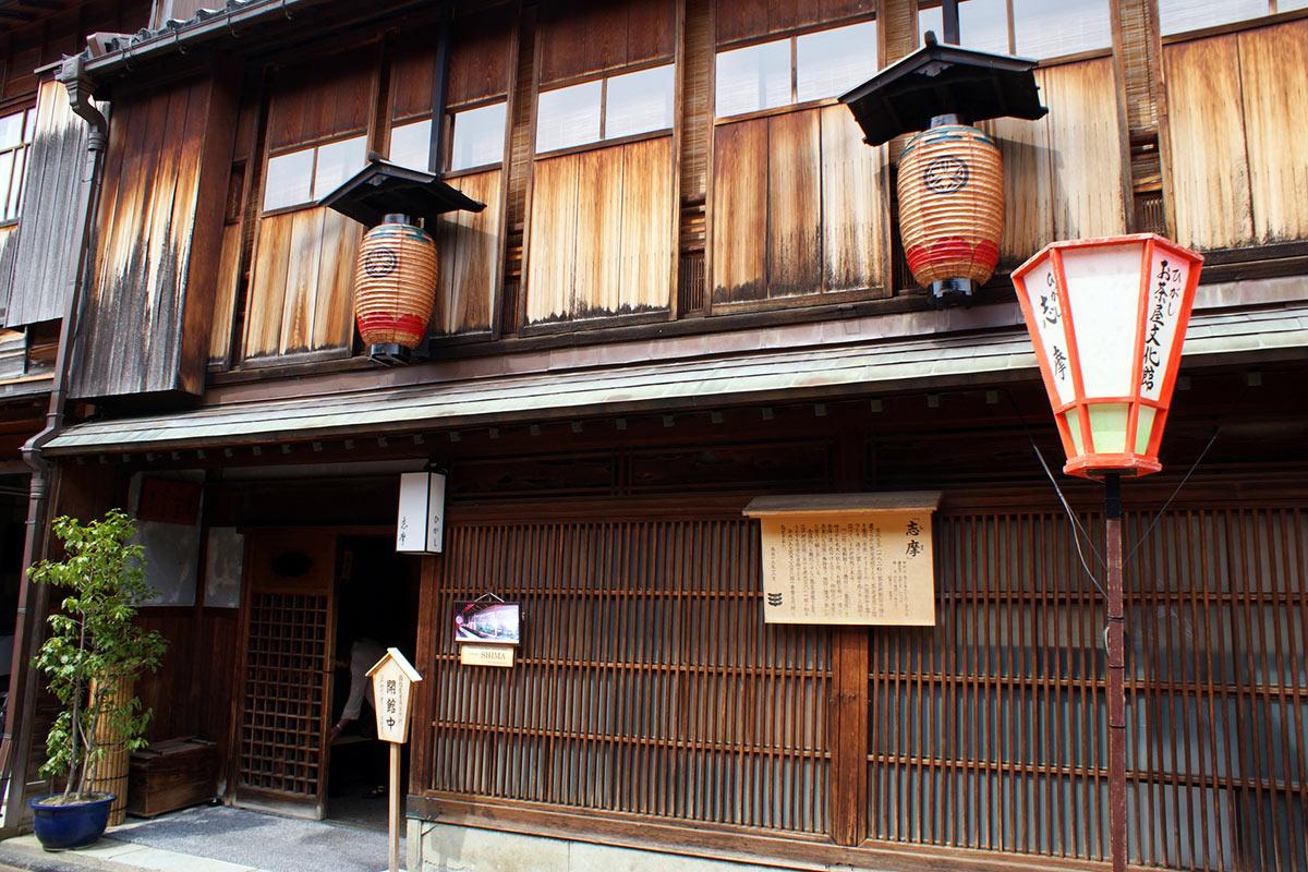 Japan Kanazawa Higashi chaya street