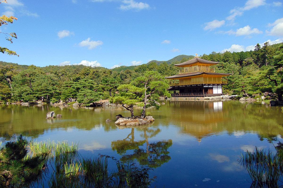 Japan Kyoto Kinkaku-ji Temple