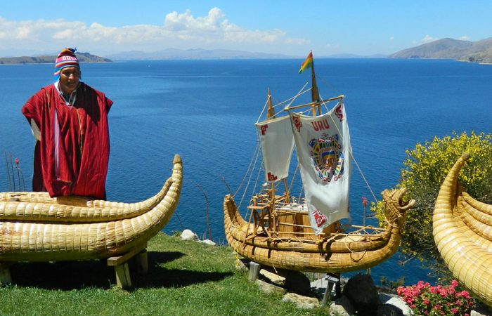 Bolivia Lake Titicaca Banner