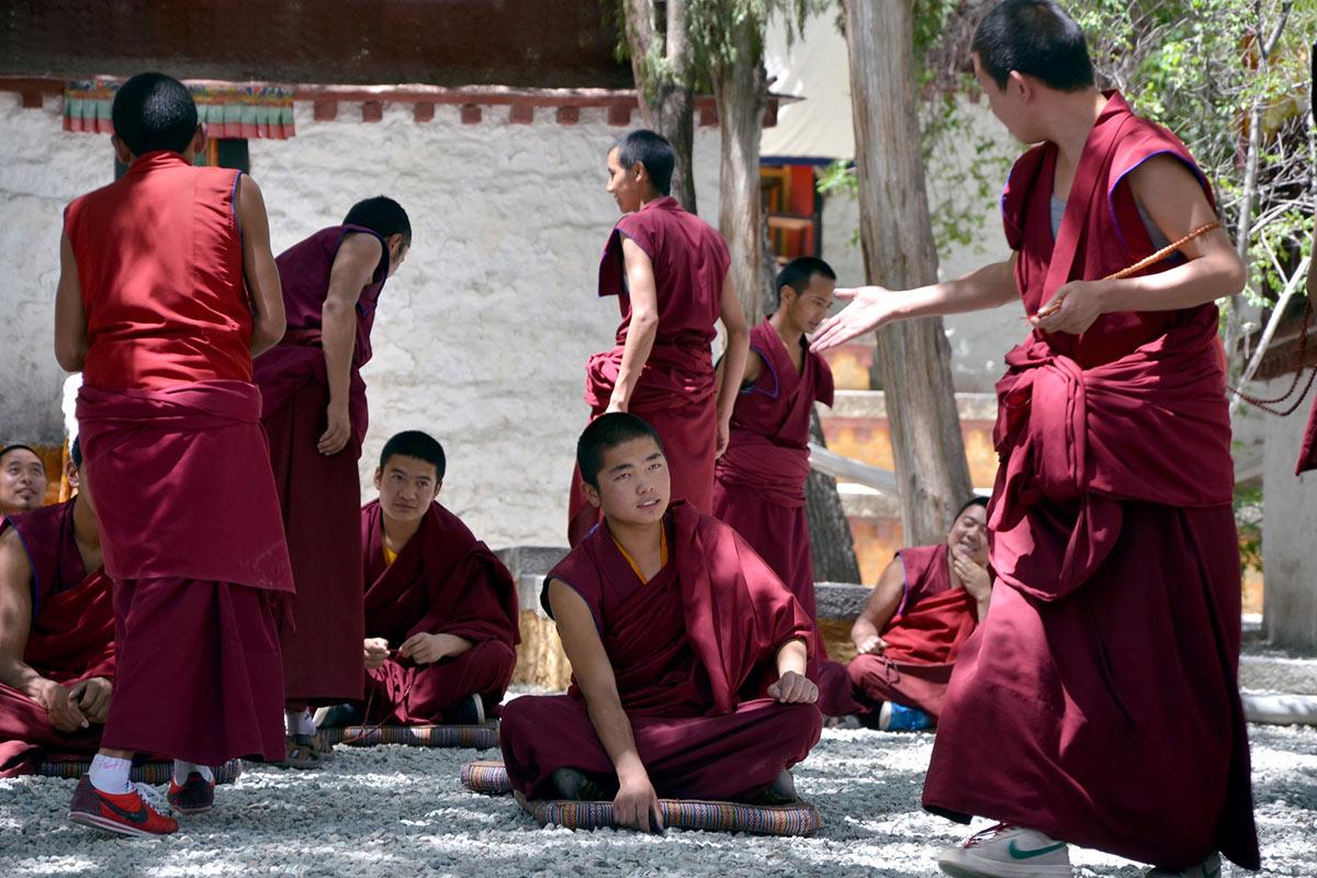 China Tibet Monk