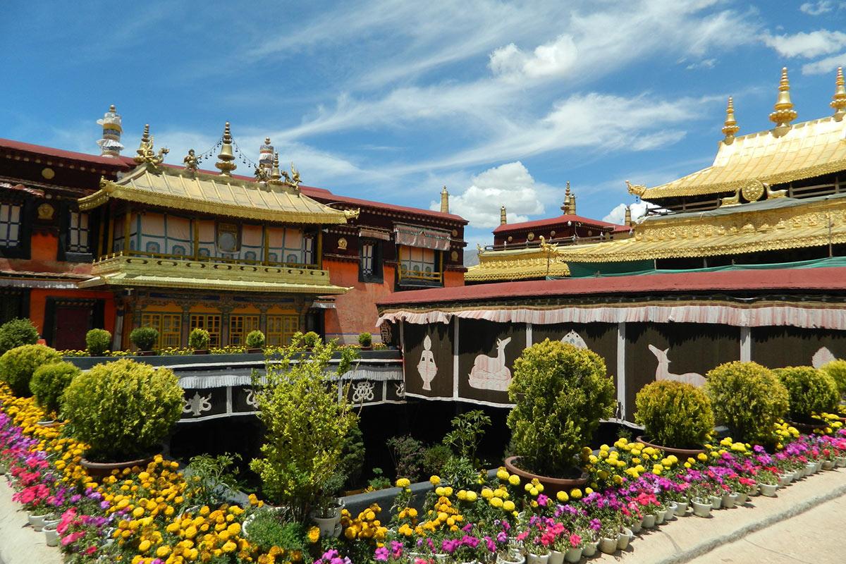 China Tibet Norbulingka Palace