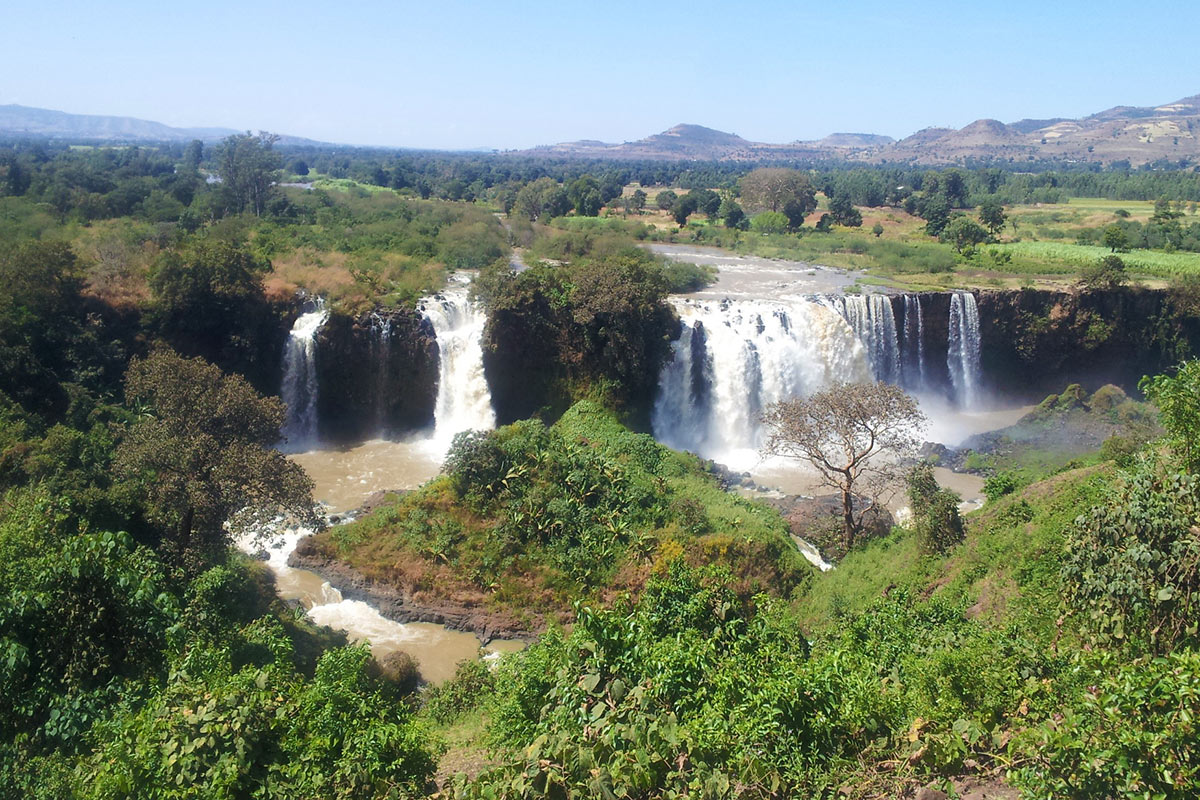 Ethiopia Bahir Dar Blue Nile Fall