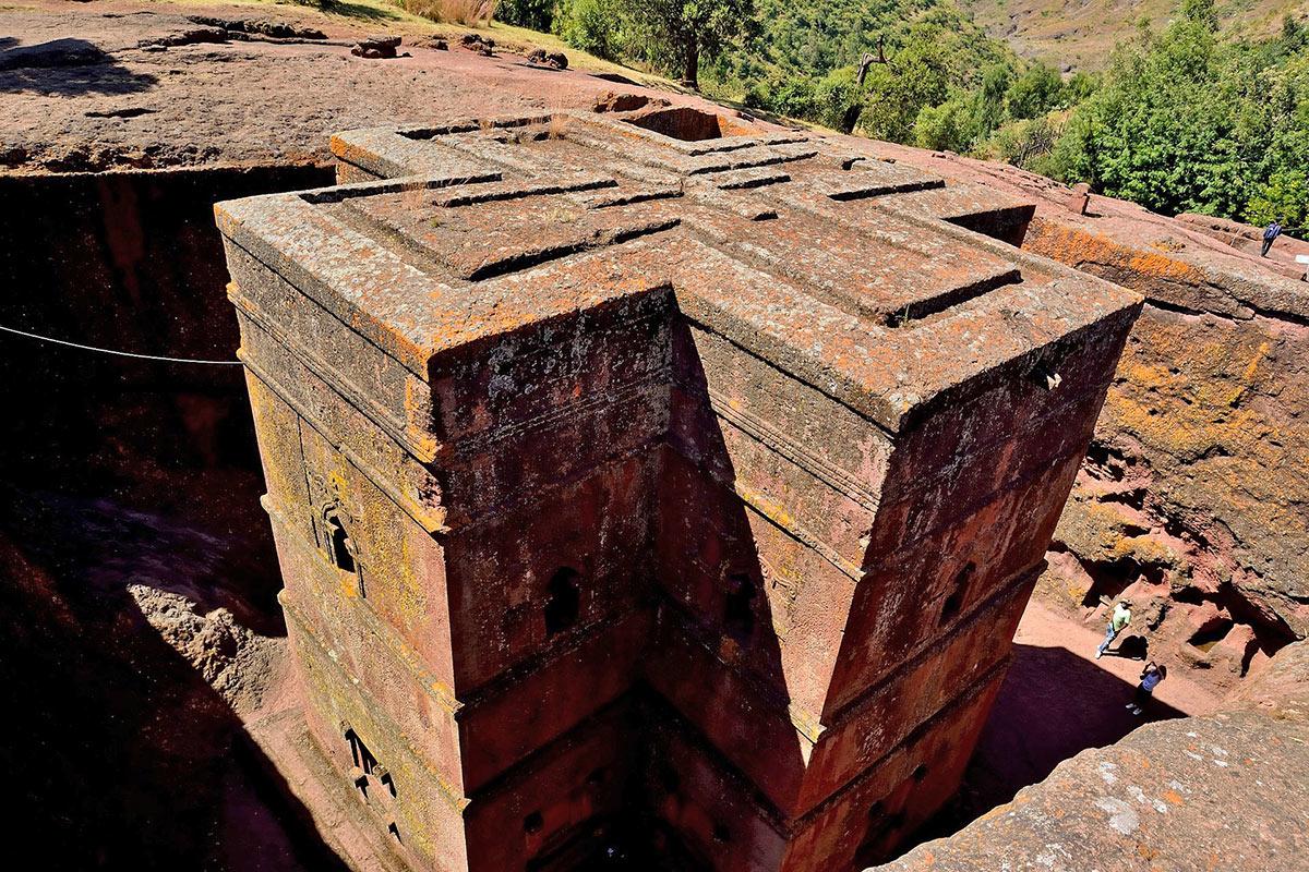 Ethiopia Lalibela Monastery