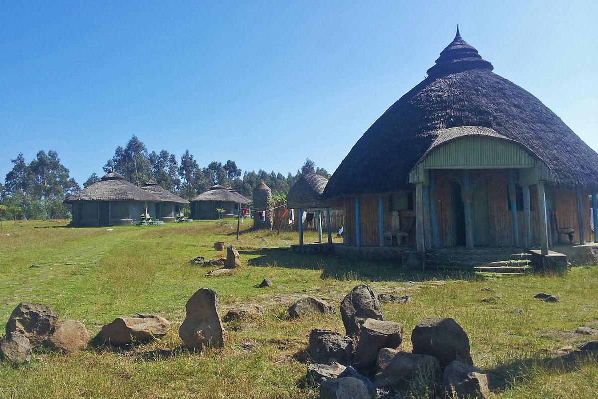 Ethiopia Simien Mountains Village