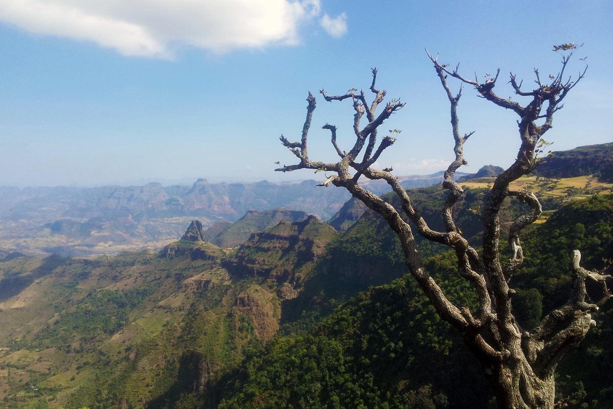 Ethiopia Simien Mountains View