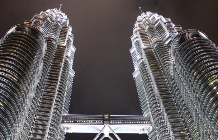 Malaysia Kuala Lumpur Petronas banner