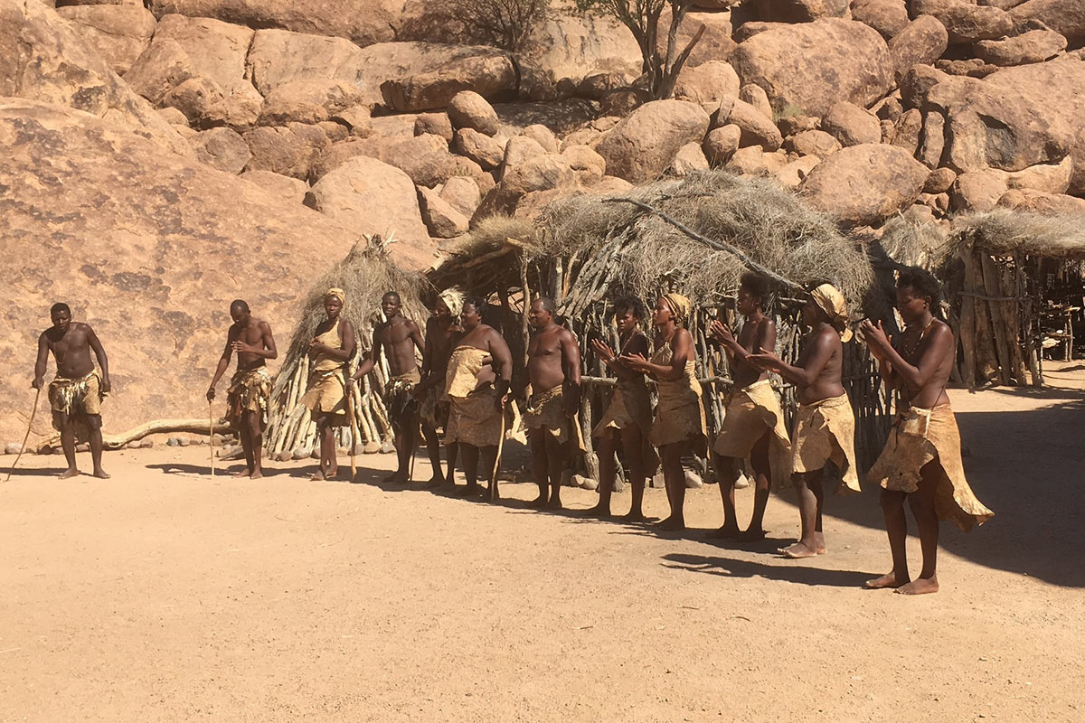 Namibia Damara Living Museum