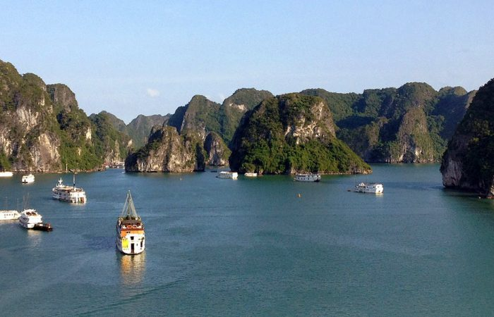 Vietnam Halong Bay from Ti Top Island banner