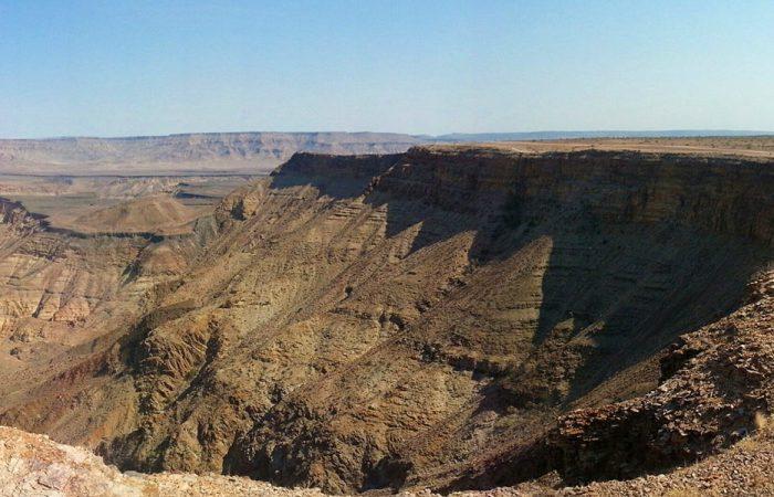 fish river canyon banner